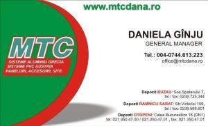 Carti de vizita - MTC