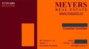 Carti de vizita - Meyers