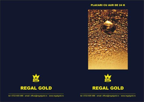 Certificat de calitate placari cu aur - exterior