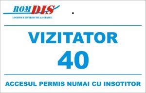 Card de acces din PVC