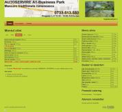 Web Design, Web Site Design :: Realizare site web firma de catering www_catering-a1_ro