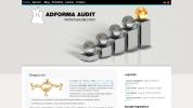 Web Design, Web Site Design :: Realizare site web www_adformaaudit_ro